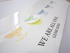 Gloss Paper Sticker one