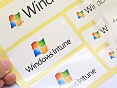 Gloss Paper Sticker windows