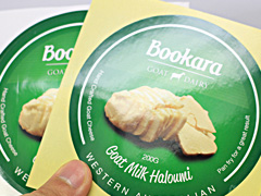 Gloss Paper Sticker green