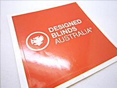 Gloss Paper Sticker Victoria