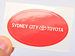Gloss Paper Sticker Australia