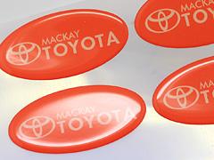 Dome Stickers Printing Brisbane