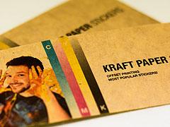 Kraft Paper Stickers Australia